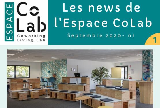 Les news de l'Espace CoLab n°1