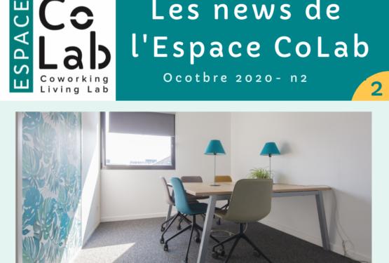 Les news de l'Espace CoLab n°2
