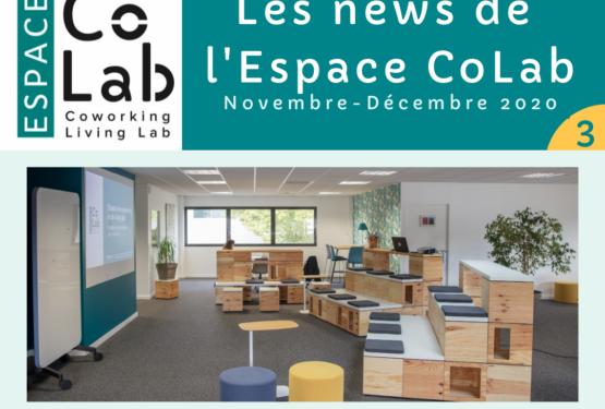 Les news de l'Espace CoLab n°3